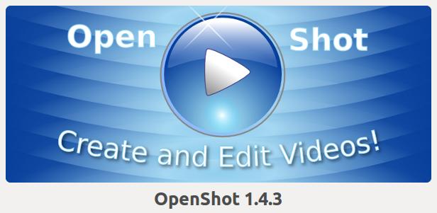 openshot 1.4.3