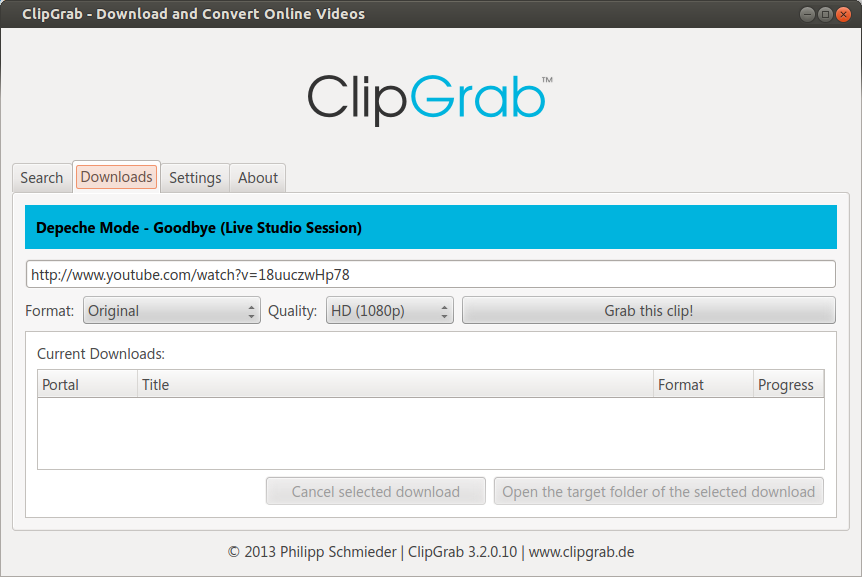 ClipGrab - Download and Convert Online Videos_357