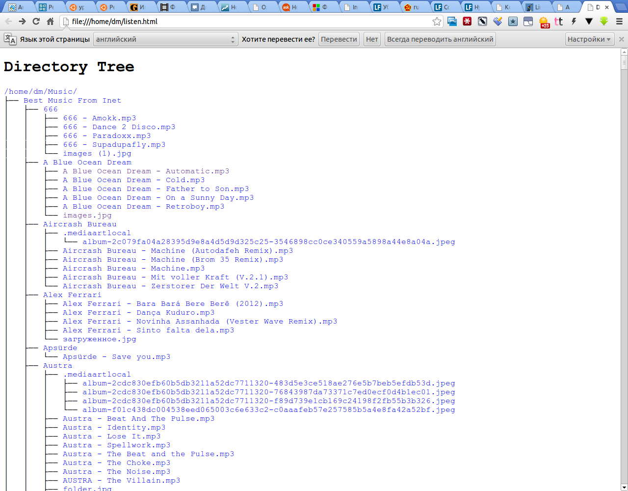 Directory Tree - Google Chrome_371