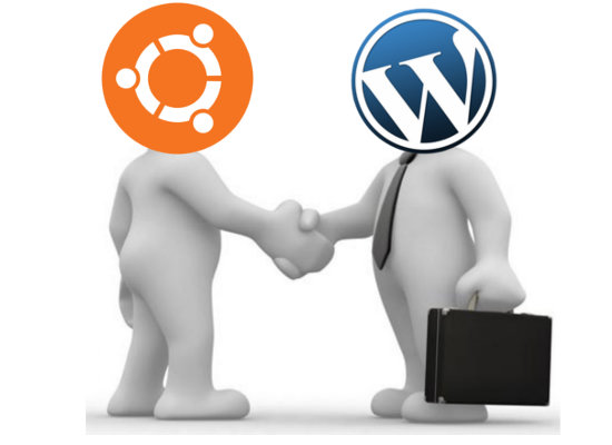 wordpress+ubuntu