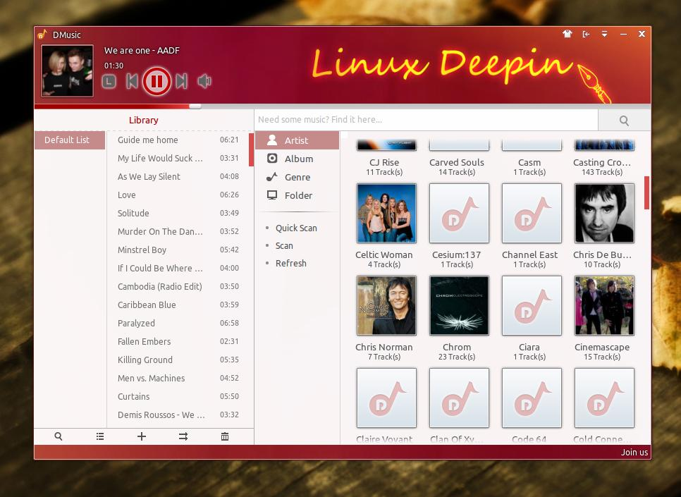 Deepin Audio Player_594