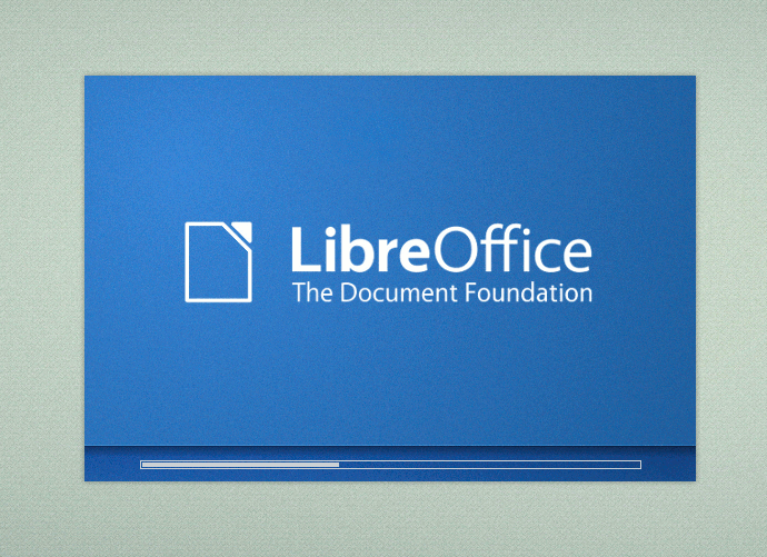 splash LibreOffice
