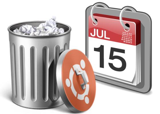 Удаление старых файлов в Убунту