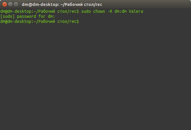 dm@dm-desktop: ~-Рабочий стол-rec_316