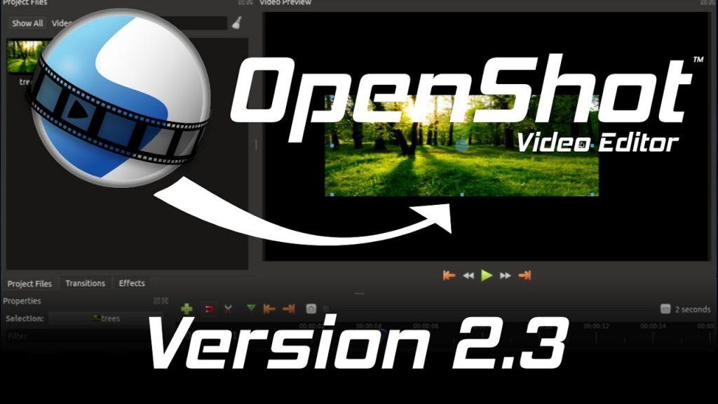 openshot 2.3